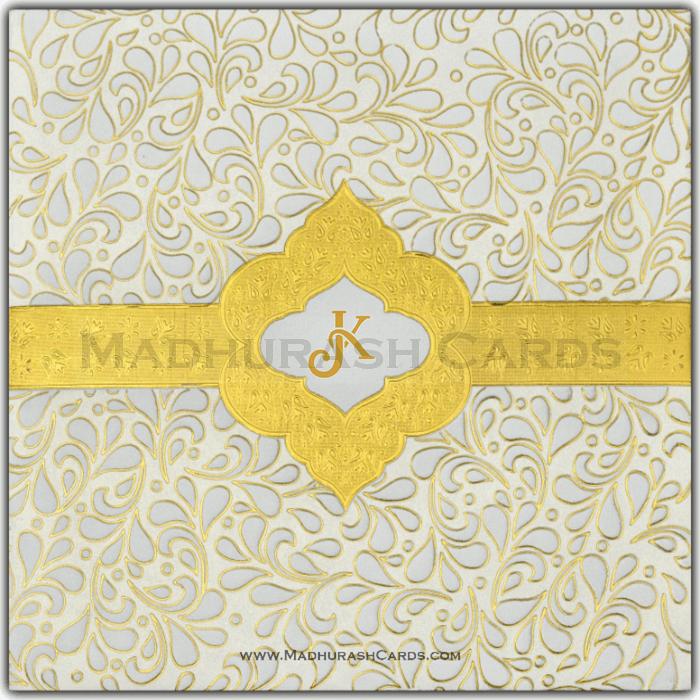 test Muslim Wedding Cards - MWC-15076I
