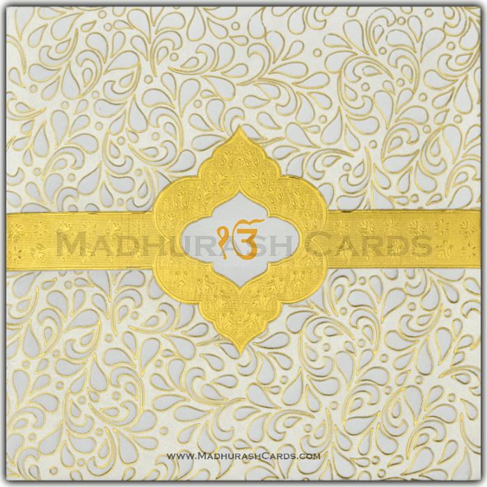 Sikh Wedding Cards - SWC-15076S - 2