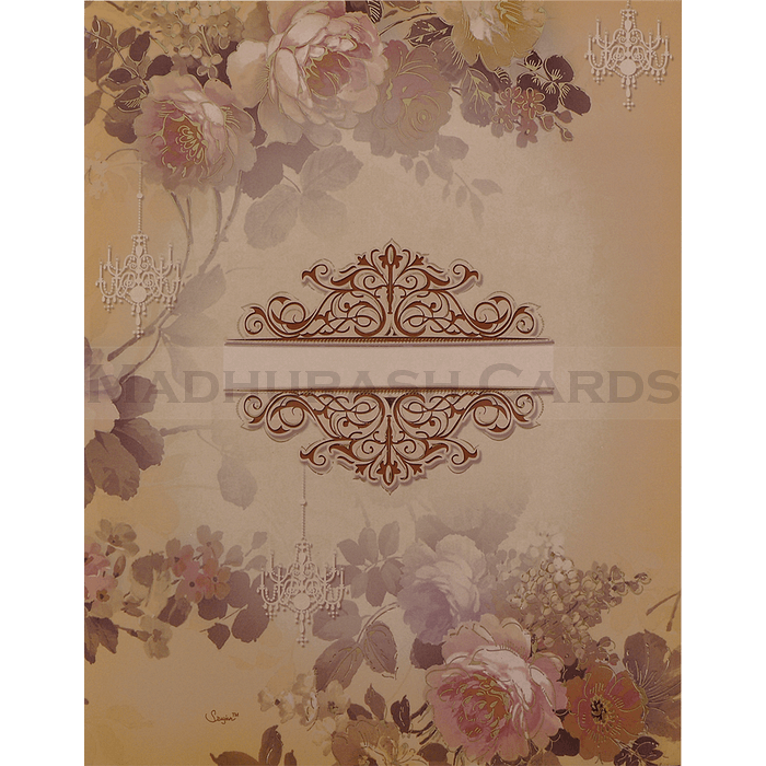 Hindu Wedding Cards - HWC-19069