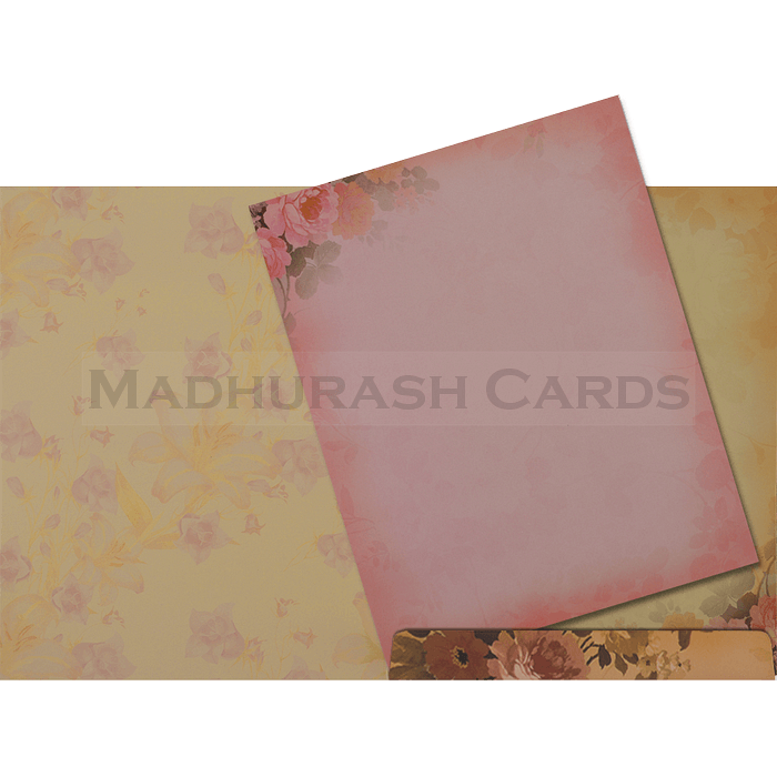 Hindu Wedding Cards - HWC-19069 - 4