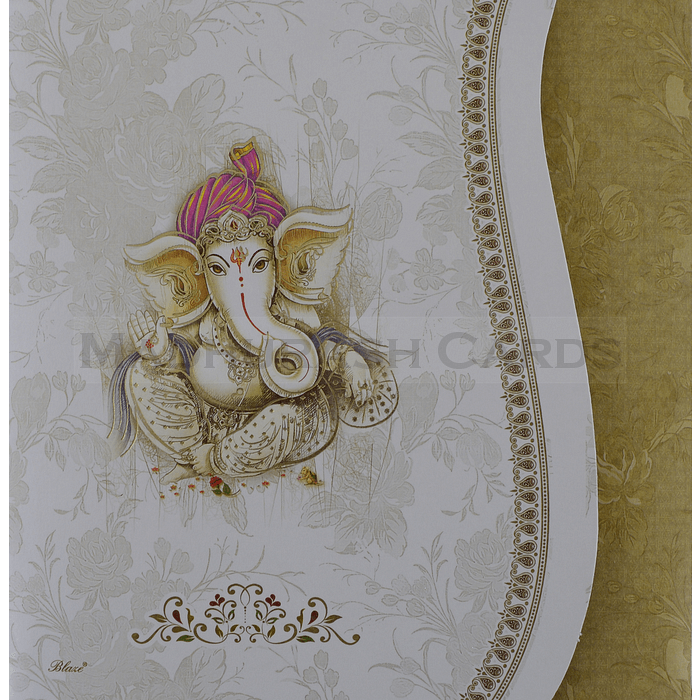 Hindu Wedding Cards - HWC-19108 - 2