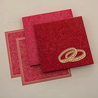 Hard Bound Wedding Cards - HBC-7003