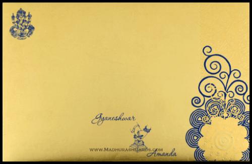 Hard Bound Wedding Cards - HBC-7005 - 3