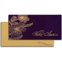 Fabric Wedding Cards - FWI-14182