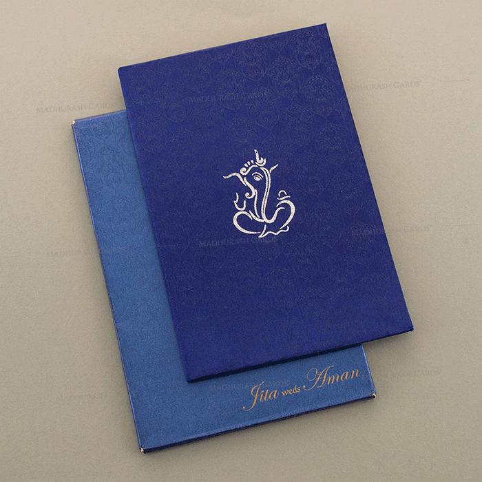 test Hard Bound Wedding Cards - HBC-7013