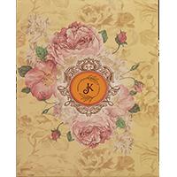 Hard Bound Wedding Cards - HBC-19044