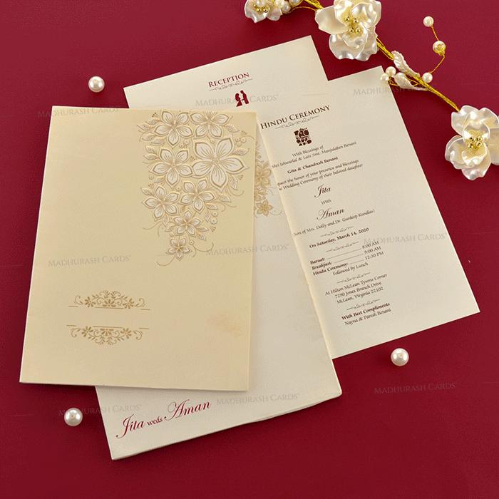Sikh Wedding Cards - SWC-19078 - 4