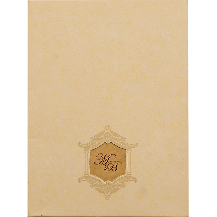 Hindu Wedding Cards - HWC-19087 - 3