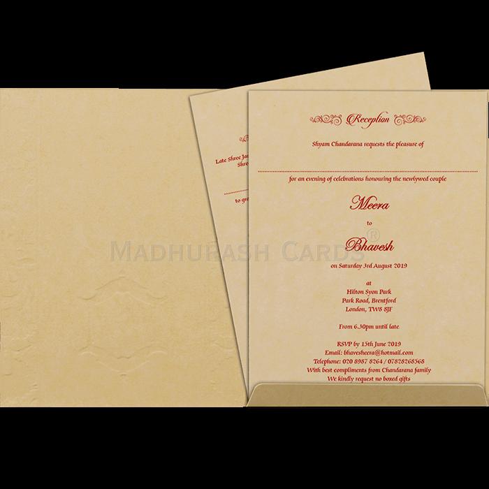 Hindu Wedding Cards - HWC-19087 - 4