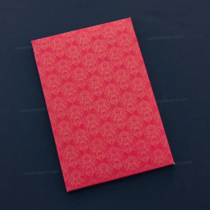 Hard Bound Wedding Cards - HBC-7014 - 3