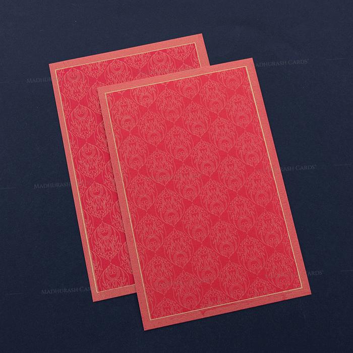 Hard Bound Wedding Cards - HBC-7014 - 4