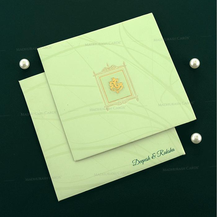 Hindu Wedding Cards - HWC-19145