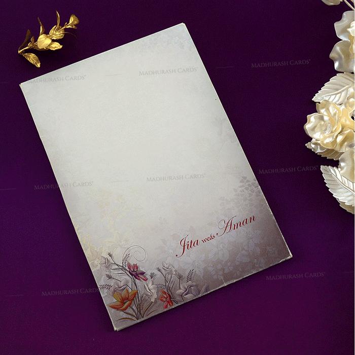 Hindu Wedding Cards - HWC-19148 - 3
