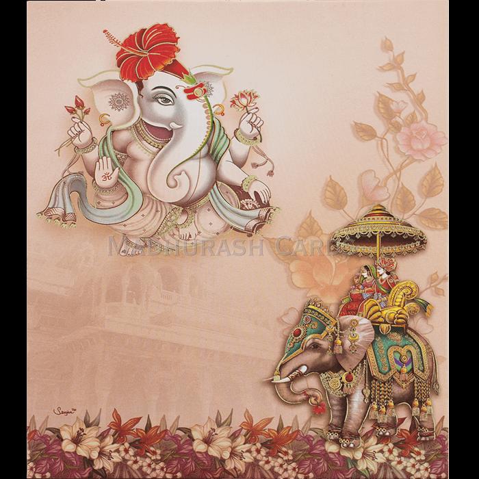 Hindu Wedding Cards - HWC-19149