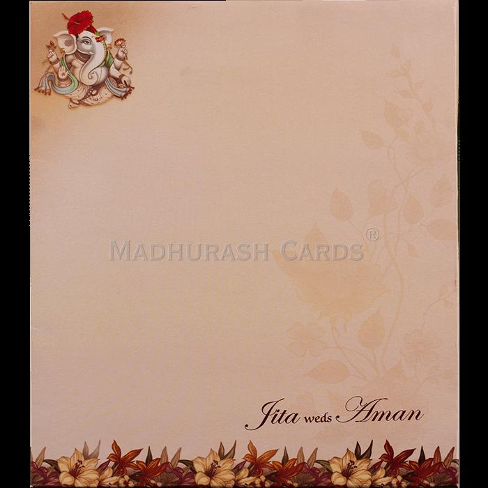 Hindu Wedding Cards - HWC-19149 - 3