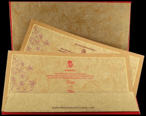 Hard Bound Wedding Cards - HBC-7020 - 4