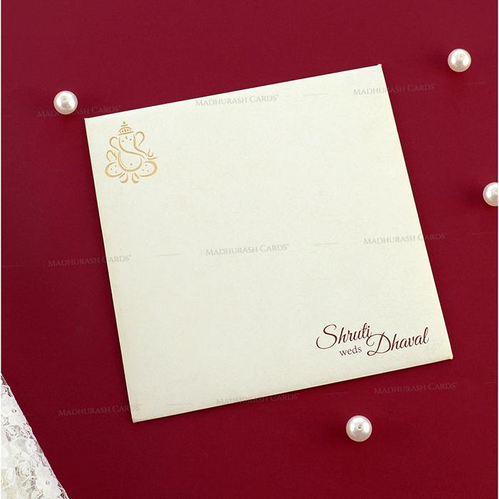 Hindu Wedding Cards - HWC-19162 - 3