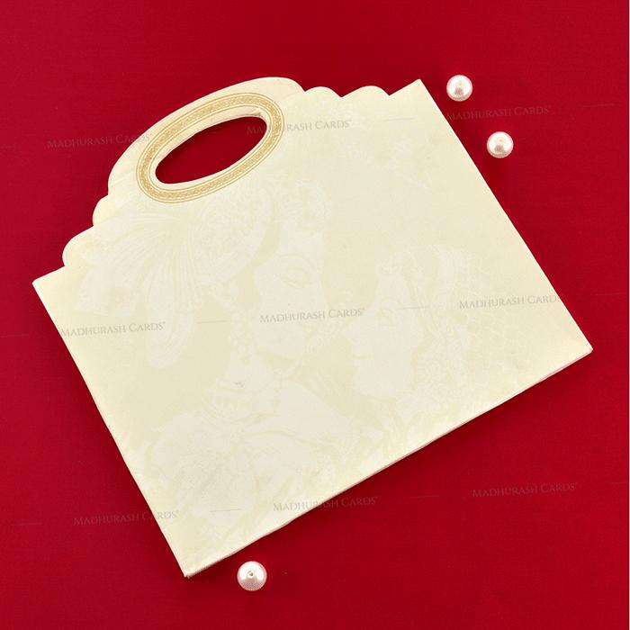 Designer Wedding Cards - DWC-19188 - 3