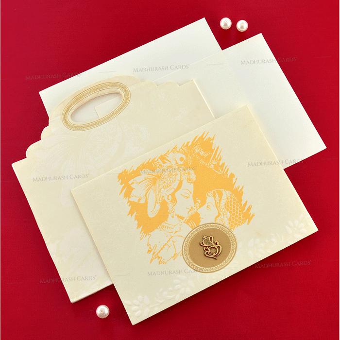 Designer Wedding Cards - DWC-19188 - 4