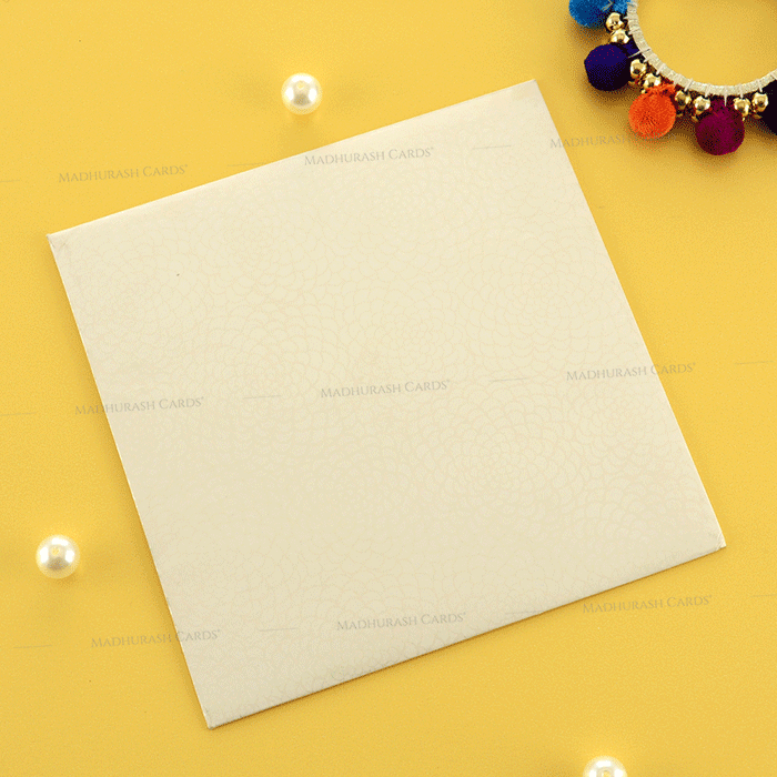 Designer Wedding Cards - DWC-19195 - 3