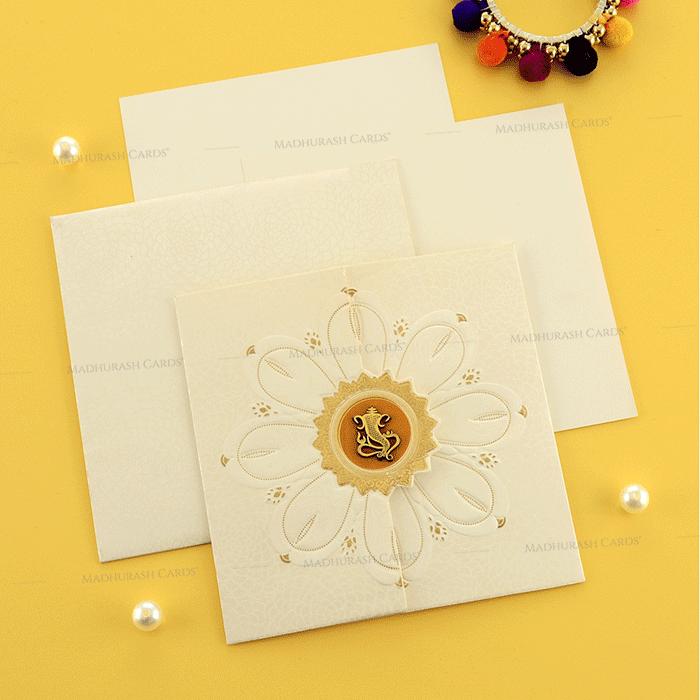 Designer Wedding Cards - DWC-19195 - 4