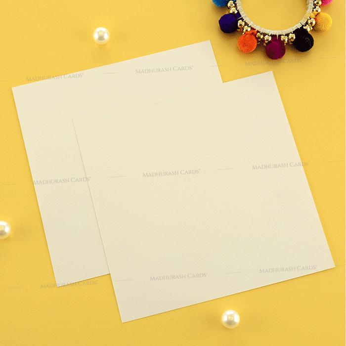 Designer Wedding Cards - DWC-19195 - 5