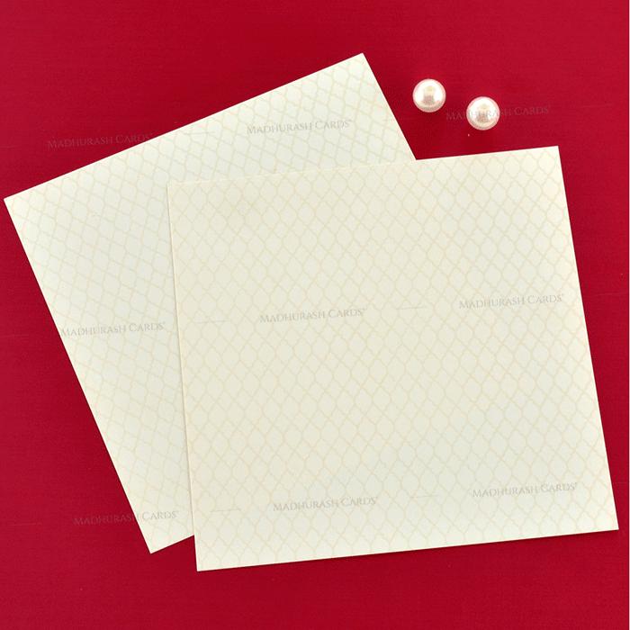 Hindu Wedding Cards - HWC-19196 - 5