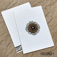 Designer Wedding Cards - DWC-19206