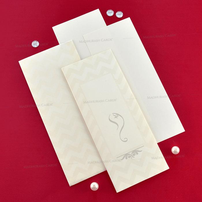 Designer Wedding Cards - DWC-19212 - 4