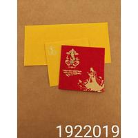 Designer Wedding Cards - DWC-19220