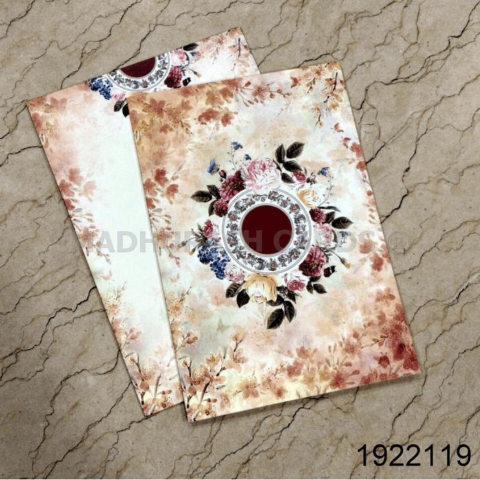 Hindu Wedding Cards - HWC-19221