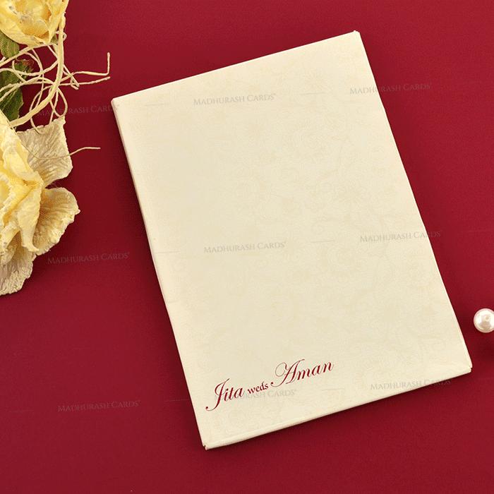 Hindu Wedding Cards - HWC-19232 - 3
