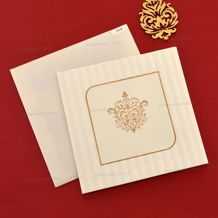 test Designer Wedding Cards - DWC-19116