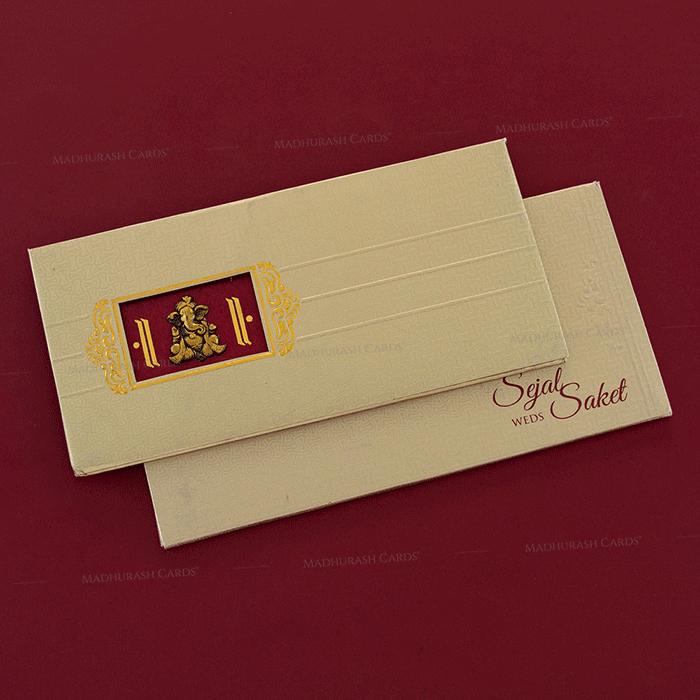 test Hard Bound Wedding Cards - HBC-7048