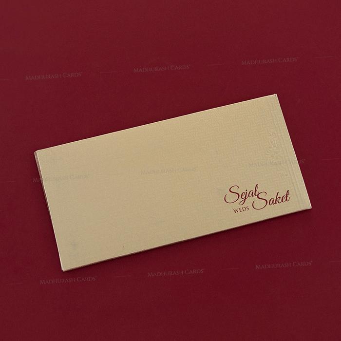 Hard Bound Wedding Cards - HBC-7048 - 3