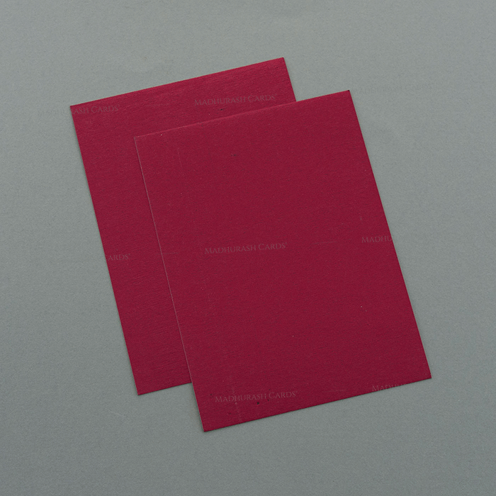Muslim Wedding Invitations - MWC-7054 - 4