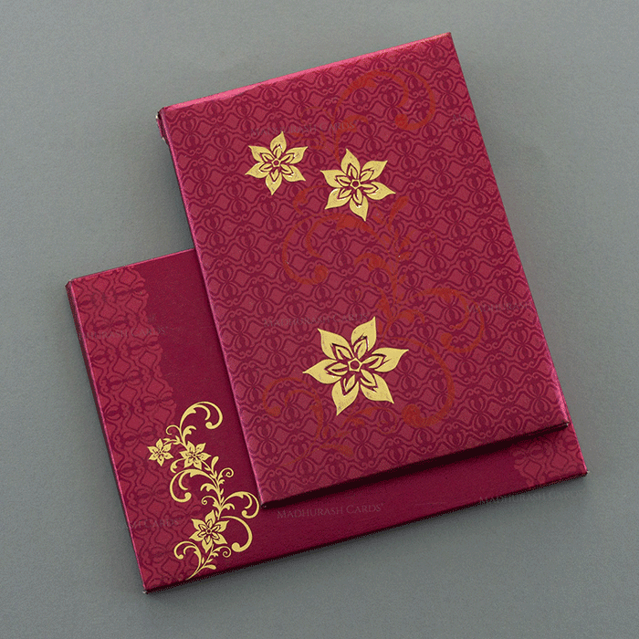 Hindu Wedding Cards - HWC-7054