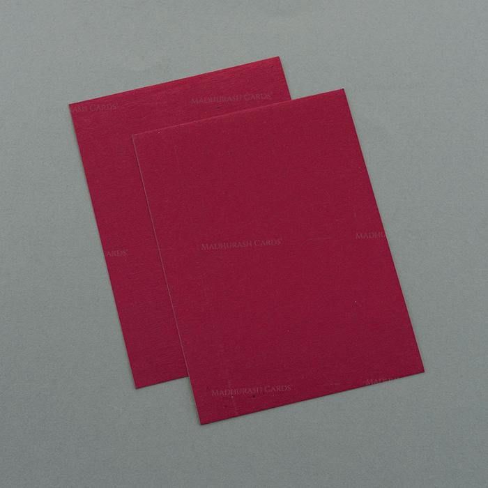 Hindu Wedding Cards - HWC-7054 - 4