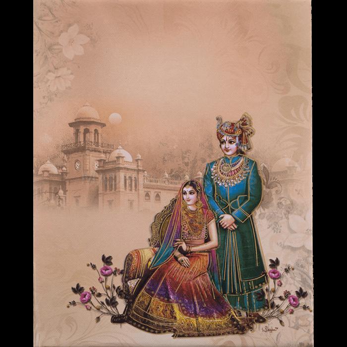 Hindu Wedding Cards - HWC-19064