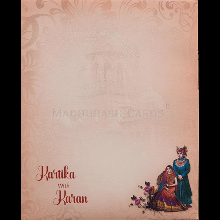 Hindu Wedding Cards - HWC-19064 - 3