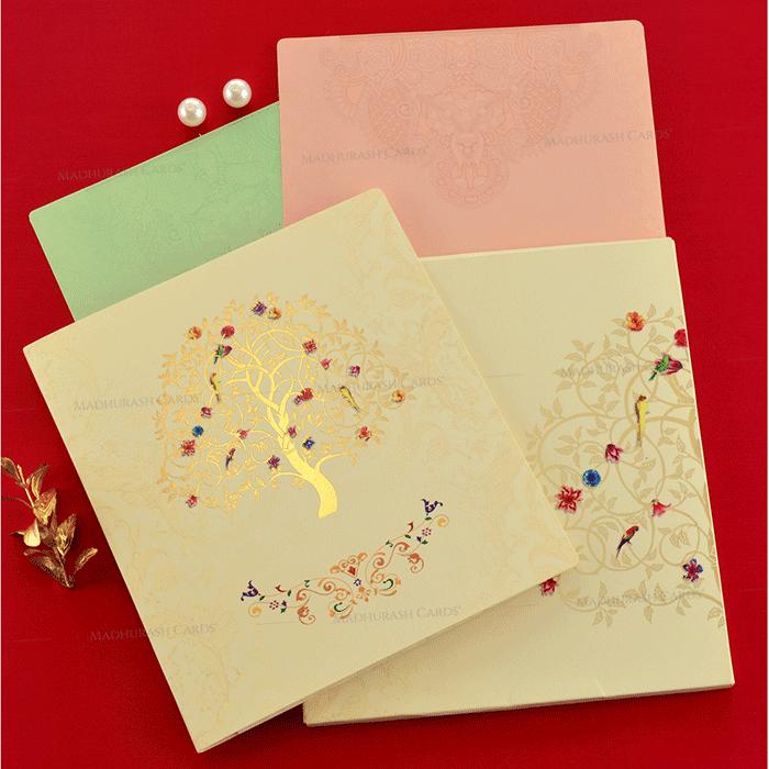 Hindu Wedding Cards - HWC-19080 - 4