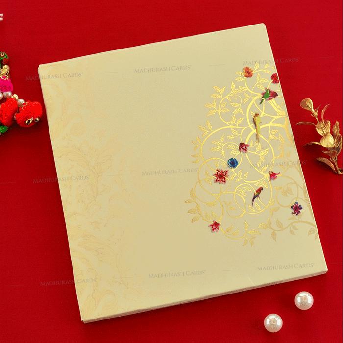Designer Wedding Cards - DWC-19080 - 3