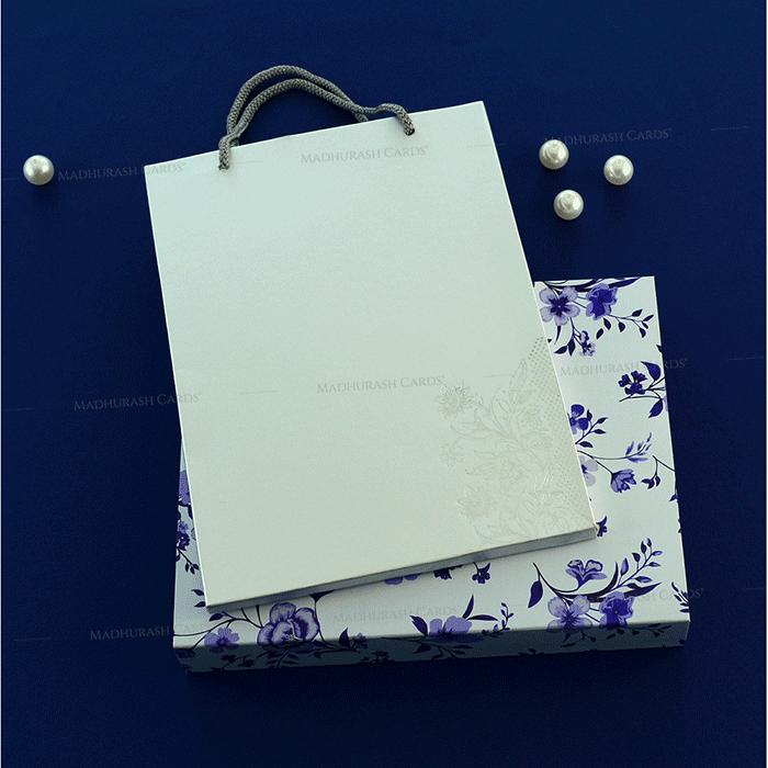 Hindu Wedding Cards - HWC-19140 - 3
