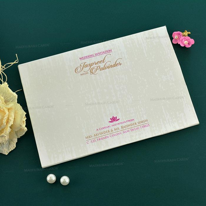 Sikh Wedding Cards - SWC-19152 - 3