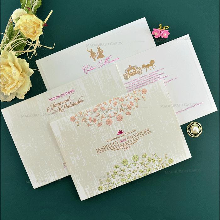 Sikh Wedding Cards - SWC-19152 - 4
