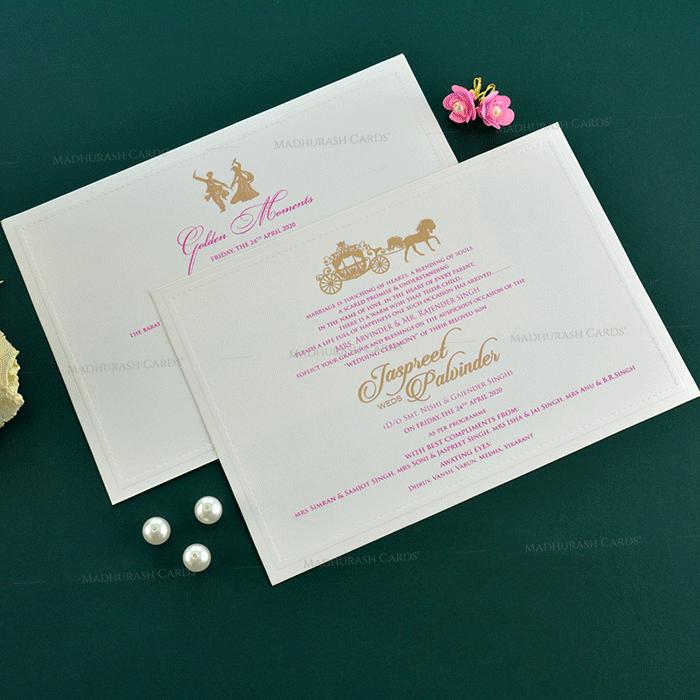 Sikh Wedding Cards - SWC-19152 - 5