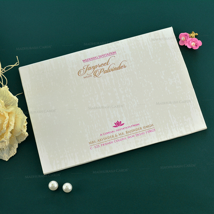 Christian Wedding Cards - CWI-19152 - 3