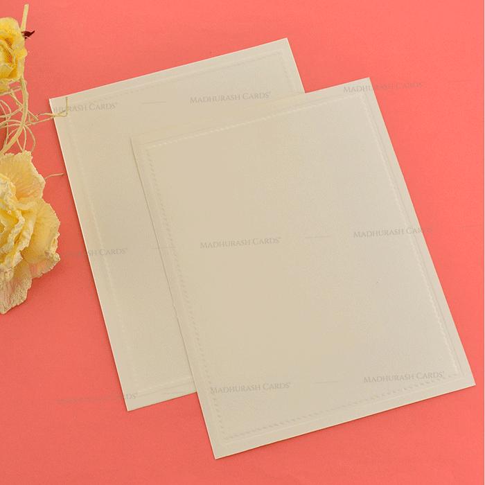 Muslim Wedding Cards - MWC-19163 - 5