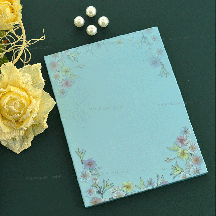 Designer Wedding Cards - DWC-19199 - 3