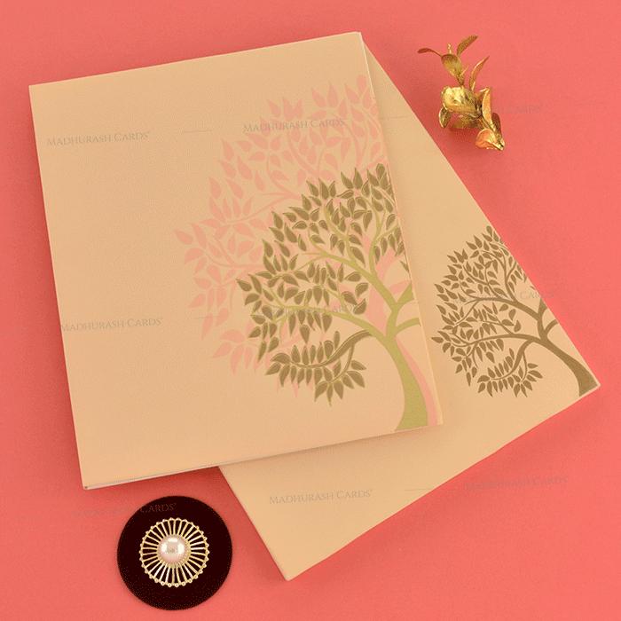 Hindu Wedding Cards - HWC-19200
